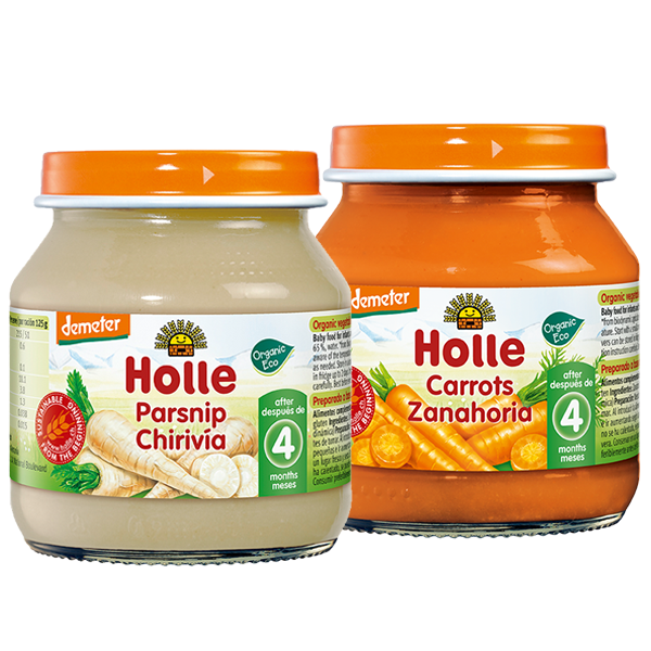 Holle Organic Baby Weaning Starter Vegetable Jars Pack