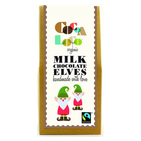 Cocoa Loco Organic Milk Chocolate Elves