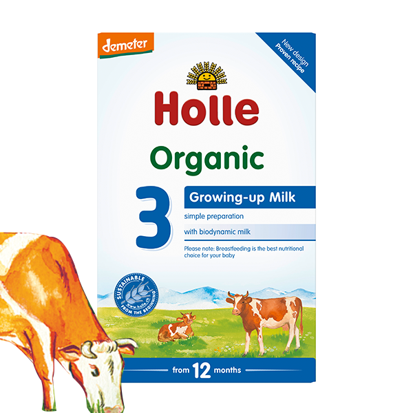 Holle Organic Growing-up Baby Milk 3