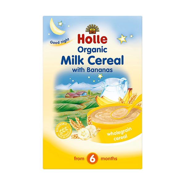 Holle Organic Baby Milk Cereal With Bananas