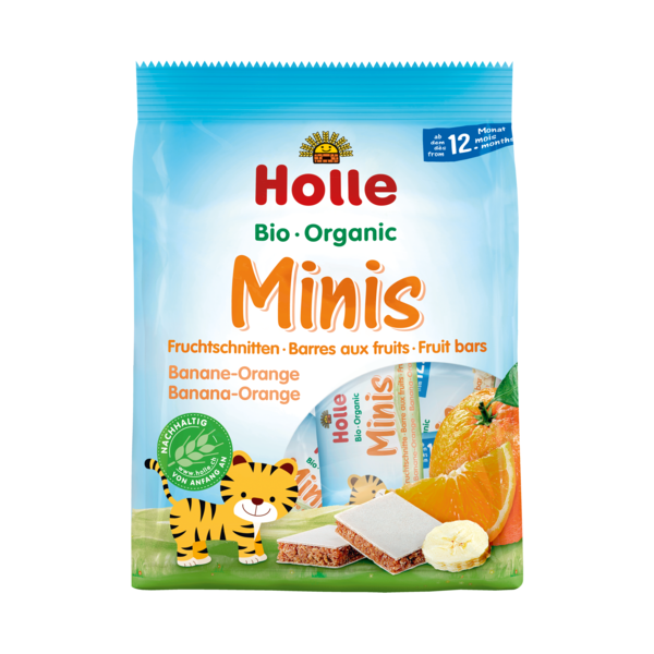 Holle Organic Minis Banana-Orange