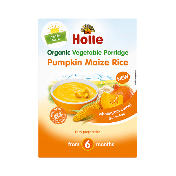 Holle Organic Vegetable Porridge Pumpkin Maize Rice
