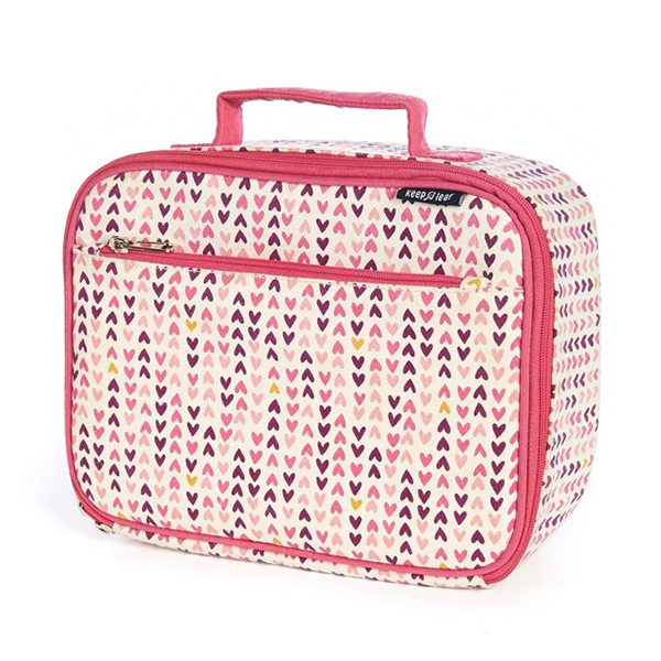 Organic Cotton Lunch Box - Hearts