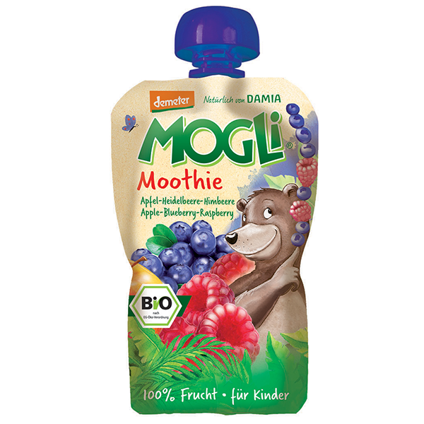Mogli's Organic Blueberry Smoothie