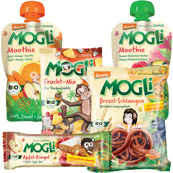 Mogli's Organic Adventure Pack for Kids