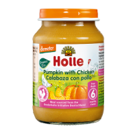 Holle Organic Pumpkin with Chicken Baby Food
