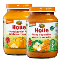 Holle Organic Baby Vegetable Lunchtime Set - 2