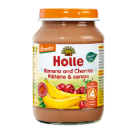 Holle Organic Banana & Cherry Baby Food