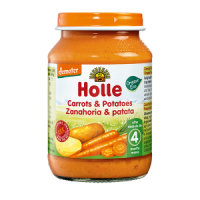 Holle Organic Carrots and Potatoes Baby Food