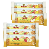 Holle Organic Fruit Bars Multi Pack