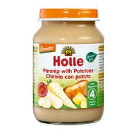Holle Organic Parsnip with Potatoes Baby Food