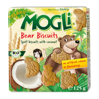 Mogli's Organic Bear Biscuit with COCONUT