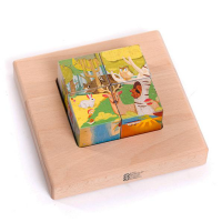 Bajo Wooden Mini Landscapes Puzzle