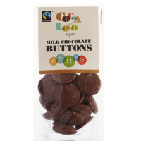 Cocoa Loco Organic Milk Chocolate Buttons