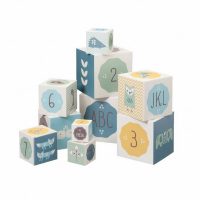 Fresk Nesting & Stacking Blocks - Blue