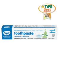 Organic Children's Toothpaste - Spearmint and Aloe Vera