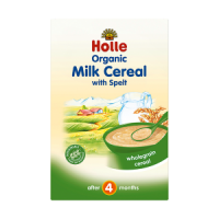 Holle Organic Baby Milk Cereal with Spelt  (crumpled corners)