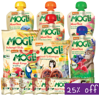 Mogli Organic Weekly Lunch Box Fillers