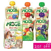 Mogli Organic Weekly Snack Box Fillers