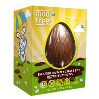 Moo Free Dairy Free Bunnycomb Egg
