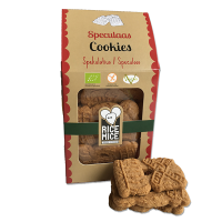 Rice Mice Gluten Free Christmas Speculaas Cookies