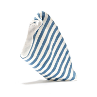 Organic Cotton Dribble Bib blue stripes