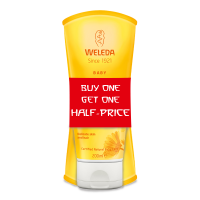 Weleda Baby Calendula Shampoo and Body Wash 200ml Offer