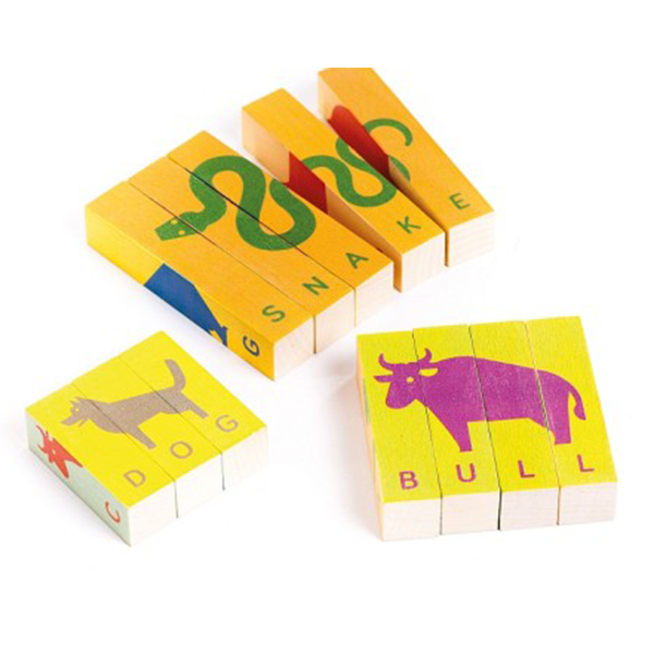 TOBE Spell Animals Wooden Puzzle