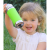 Pura Kiki 11oz Toddler Sippy Bottle - Aqua Swirl Sleeve