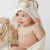 Wooly Organic Hooded Bunny Towel