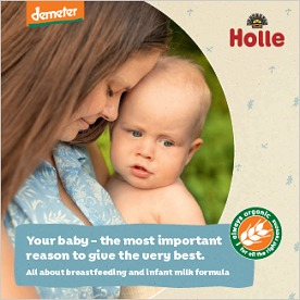 Holle Breastfeeding and Infant Formula Milk Guide