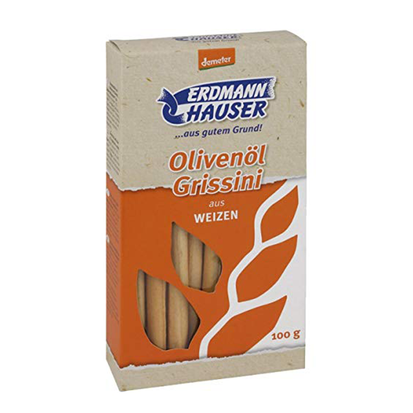 ErdmannHauser Organic Olive Oil Breadsticks
