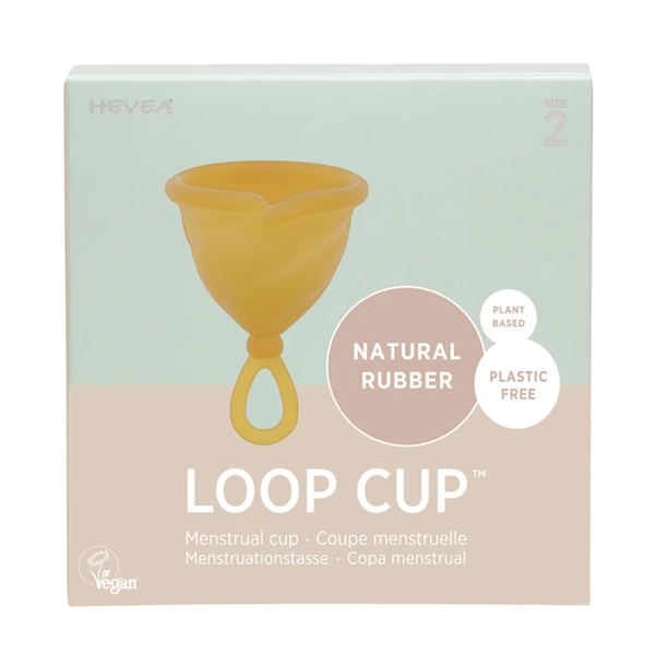 Hevea Natural Rubber Loop Cup - Size 2