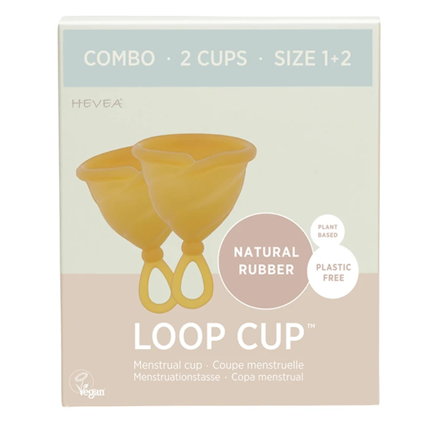 Hevea Natural Rubber Loop Cup Combo