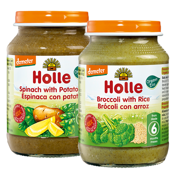 Holle Organic Green Vegetable Lunches Multi-Pack