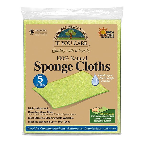 If You Care Natural Sponge Cloths