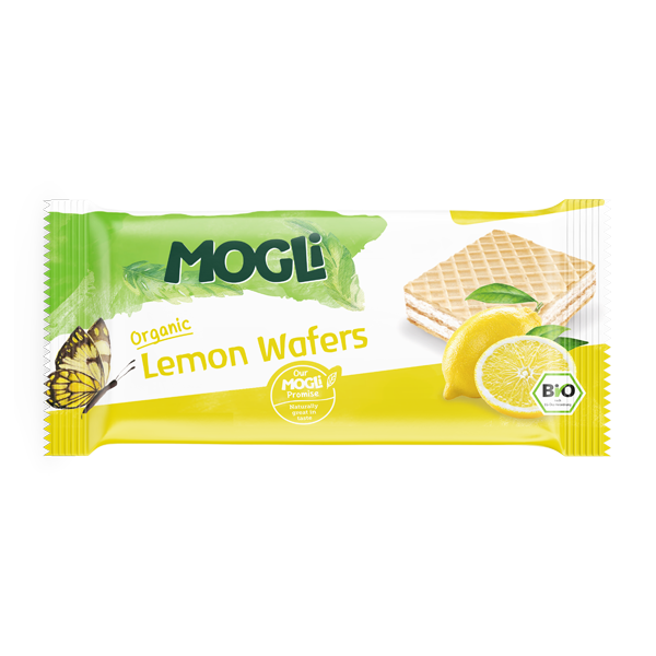 MOGLi Organic Lemon Wafer