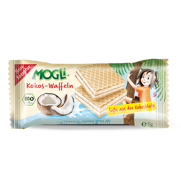 Mogli's Organic COCONUT Wafer