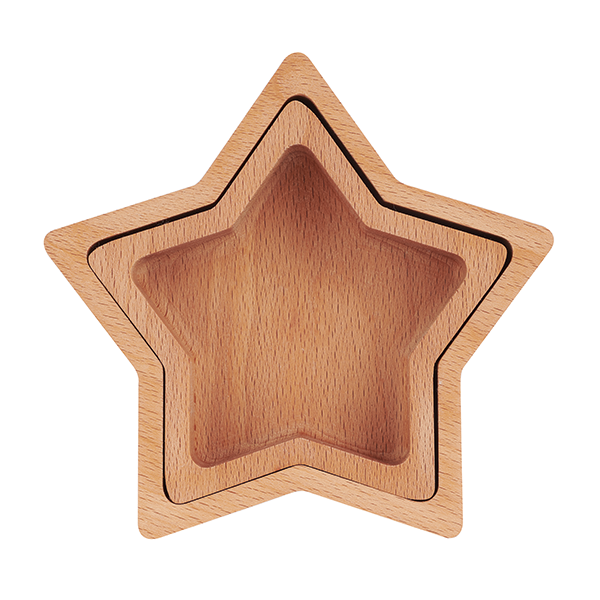 Wooden Star Bowls