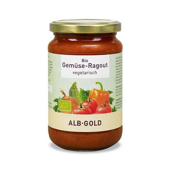 Alb-Gold Organic Vegetable Ragout Pasta Sauce