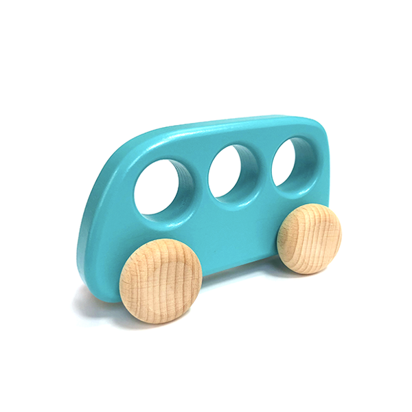 Bajo Wooden Bus - Turquoise