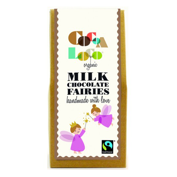 Cocoa Loco Organic Milk Chocolate Fairies