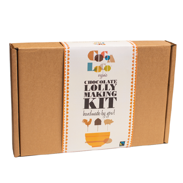 Cocoa Loco Chocolate Lolly Making Kit