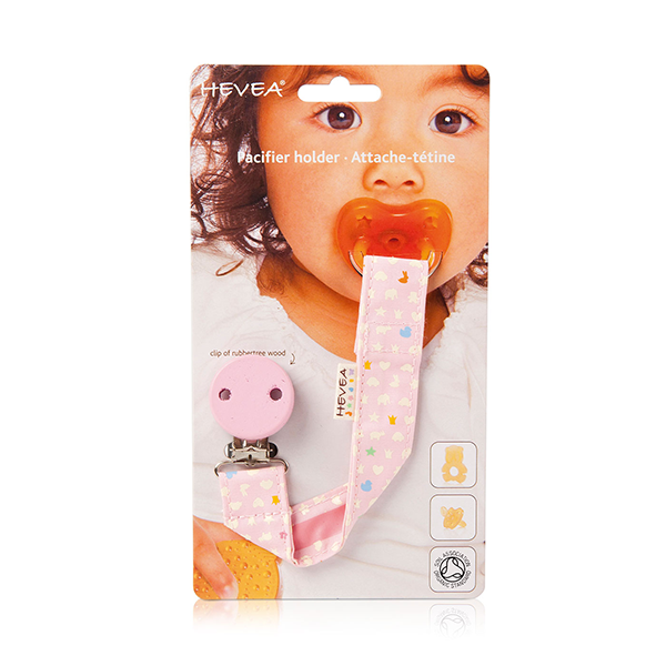 Hevea Natural Soother Holder