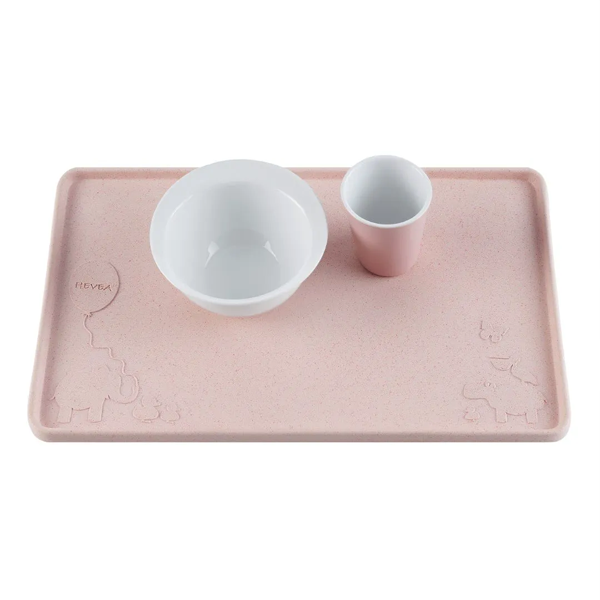 Hevea Natural Rubber Placemat - Peach