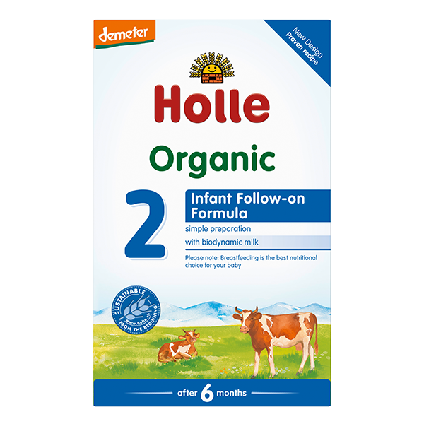 Holle Organic Infant Follow-on Formula 2 Baby Milk