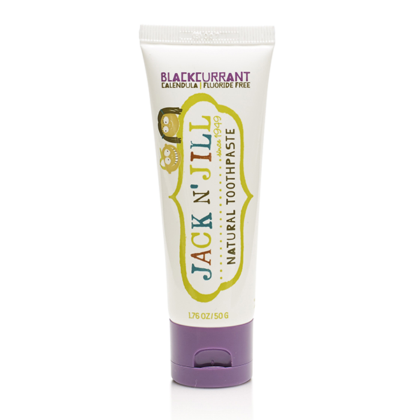 Jack N' Jill Natural Calendula Toothpaste Blackcurrant