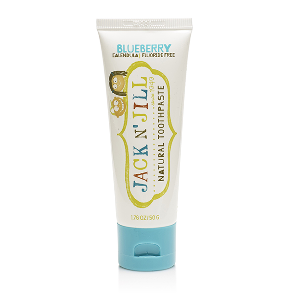 Jack N' Jill Natural Calendula Toothpaste Blueberry
