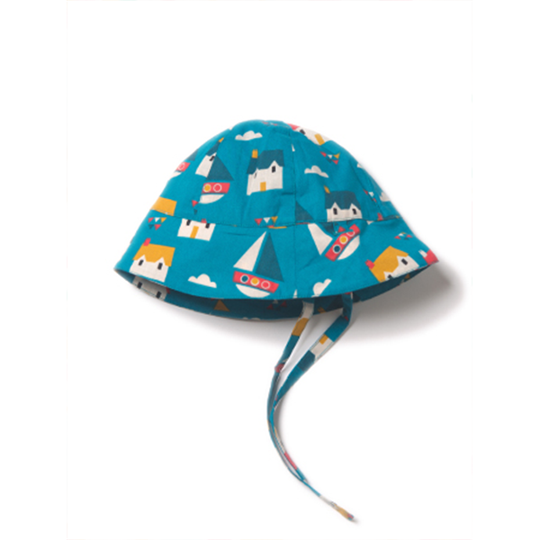 Little Green Radicals Sail Away Sunhat