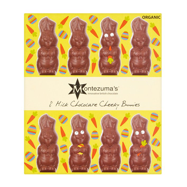 Montezuma's Milk Chocolate Cheeky Bunnies